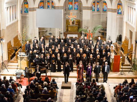 Choeur Symphonique concert in Montpellier