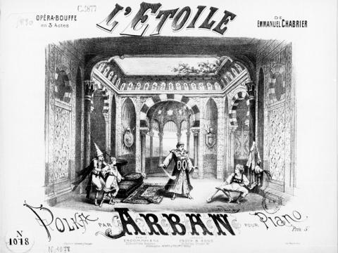 l'Etoile d'Emmanuel Chabrier Opera Avignon