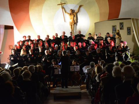 Choeur Symphonique performs in Cap d'Agdes